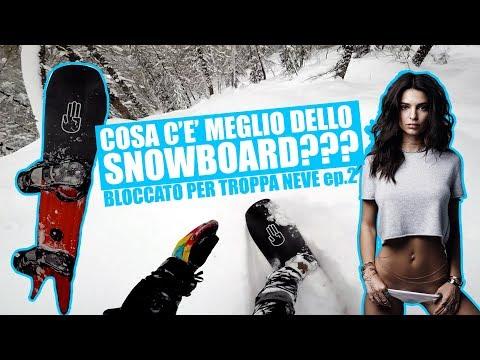 lo snowboard può aiutarti a perdere peso