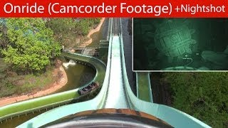 Holiday Park - Wickie Splash - Onride (POV / Camcorder Footage & Nightshot)