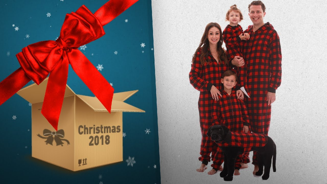 5a43772b35 Top 10 Family Christmas Onesie Pajamas   Countdown To Christmas 2018 ...