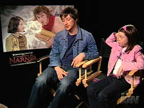 The Chronicles of Narnia   with James McAvoy and Georgie Henley