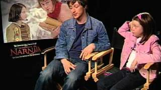The Chronicles of Narnia - Interview with James McAvoy and Georgie Henley