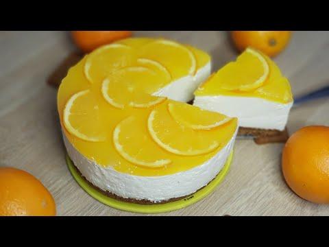 cheesecake-orange-spéculoos,-gâteau-sans-cuisson