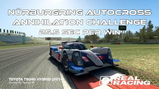 Real Racing 3 Nürburgring Autocross Annihilation Best Choice RR3