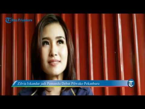Zilvia Iskandar Akan Pandu Debat Pilwako Pekanbaru
