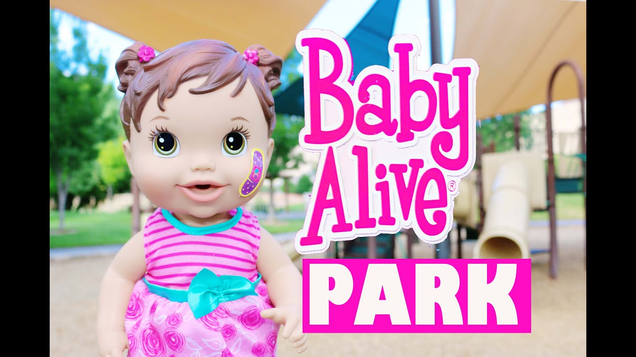 Baby Alive Boo Boo And Birthday Baby Play At Park Youtube