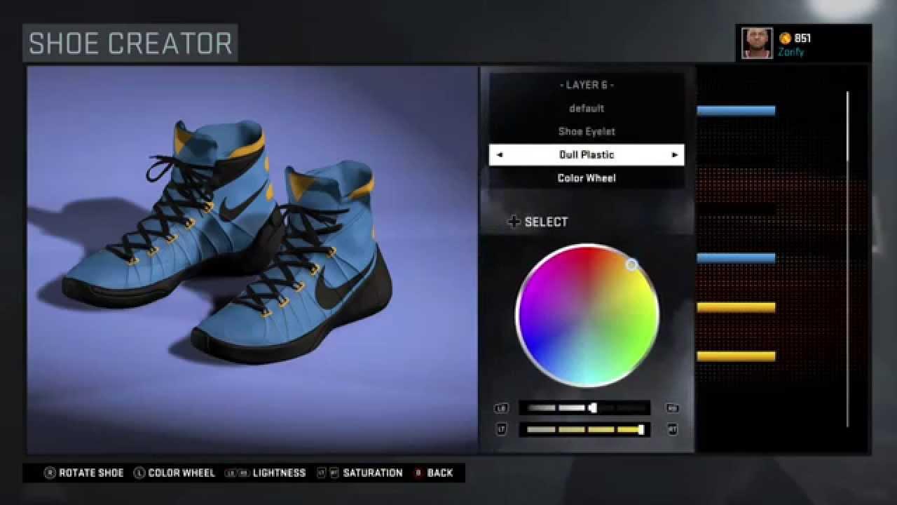 cfd3d0fa4ca0 NBA 2K16 Shoe Creator - Nike Hyperdunk 2015 Custom Nike Hyperdunk 2015 iD  ...