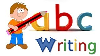ABC Writing | Alphabet Writing | Small Letters | Lower-Case Letters