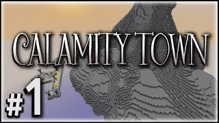 Minecraft :: Calamity Town on PlayMindcrack #1 - Wasteland Village 2.0