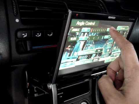"""Kenwood excelon 7"""" KTV-817 Touch Screen DVD player"""