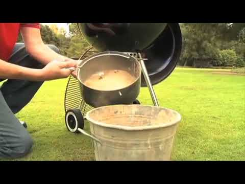 Weber Grills Charcoal Grill Cleaning Tips   YouTube 360p