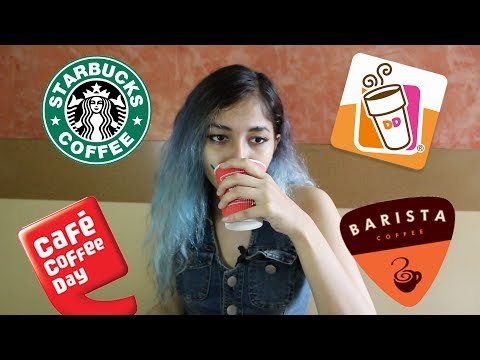 Hot Chocolate Review | Starbucks, Dunkin' Donuts, Cafe Coffee Day, Barista //Equalist Aastha
