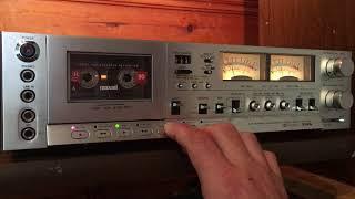 Aiwa AD-6900 Audiophile Cassette Deck.