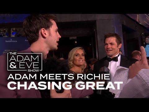 Adam meets Richie McCaw