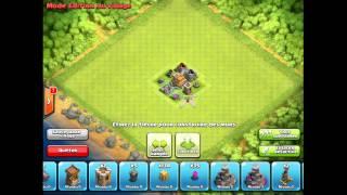 creer un village mode defense avec un hdv lvl 4