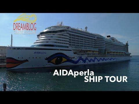 AIDAperla Complete Ship Tour