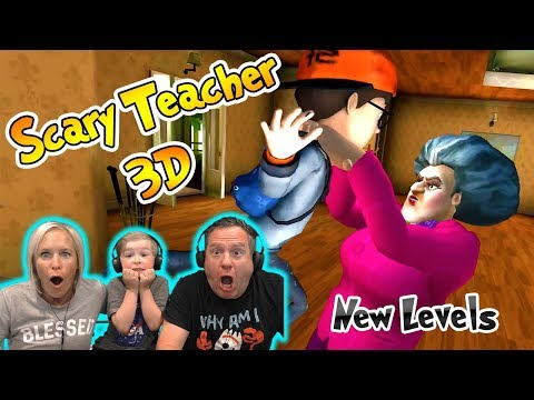 Scary Teacher 3D Horror Game - New Levels Walkthrough