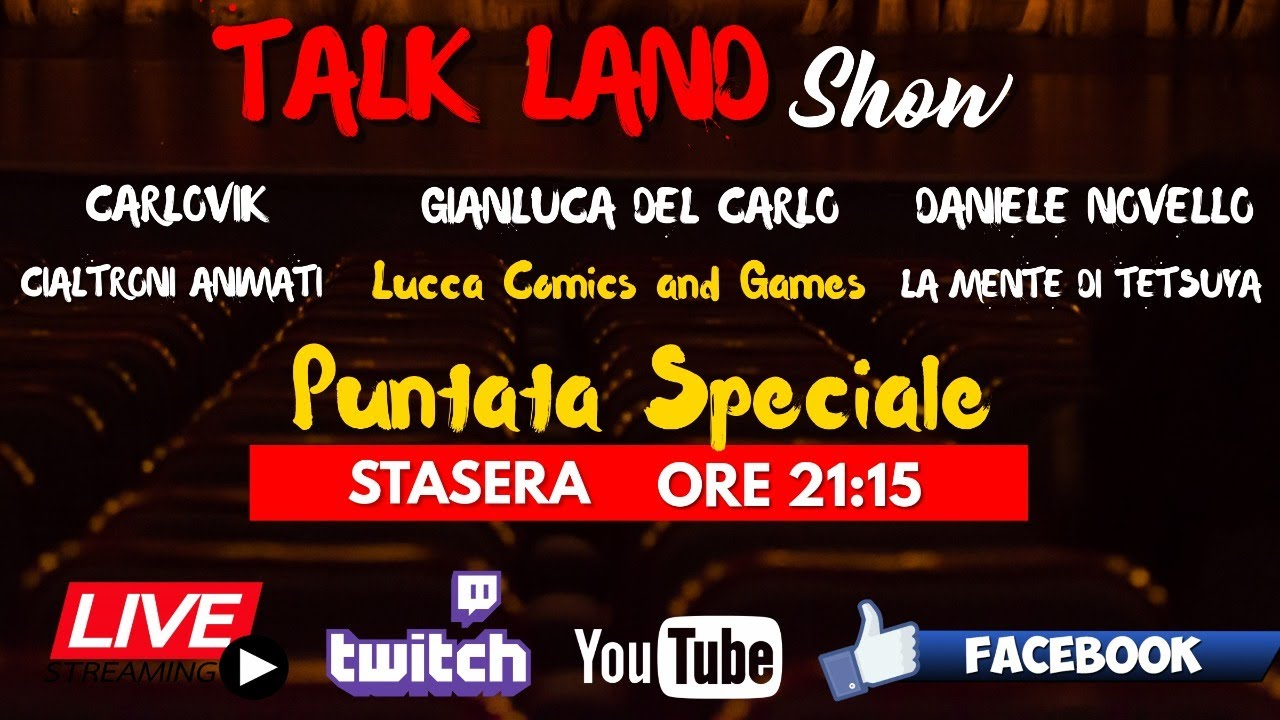Gianluca Del Carlo, Daniele Novello e Carlovik ospiti a Talk Land
