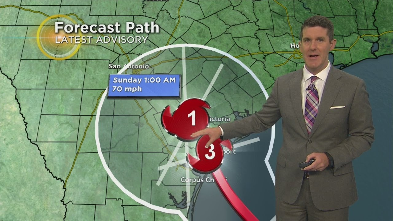 Friday's Harvey & North Texas Weather Forecast