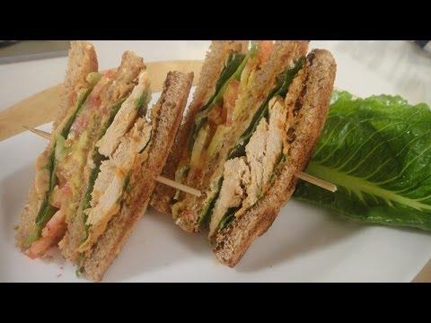 Lebanese Club Sandwich | Sanjeev Kapoor Khazana