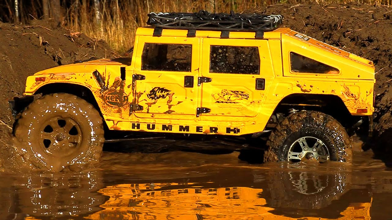 Cars MUD Racing – HUMMER H1, MERCEDES G500 | Wilimovich