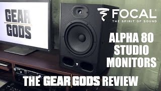 FOCAL Alpha 80 Studio Monitors - The Gear Gods Review