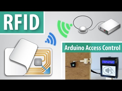 How RFID Works and How To Make an Arduino based RFID Door Lo