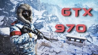 Far Cry 4 GTX 970 OC | 1440p & 1080p HIGH | VERY HIGH | ULTRA & NVIDIA SETTINGS | FRAME-RATE TEST