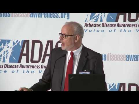 "Keynote: David McCumber, ""Death and Duplicity: Why We All Must Keep Fighting to Ban Asbestos"""
