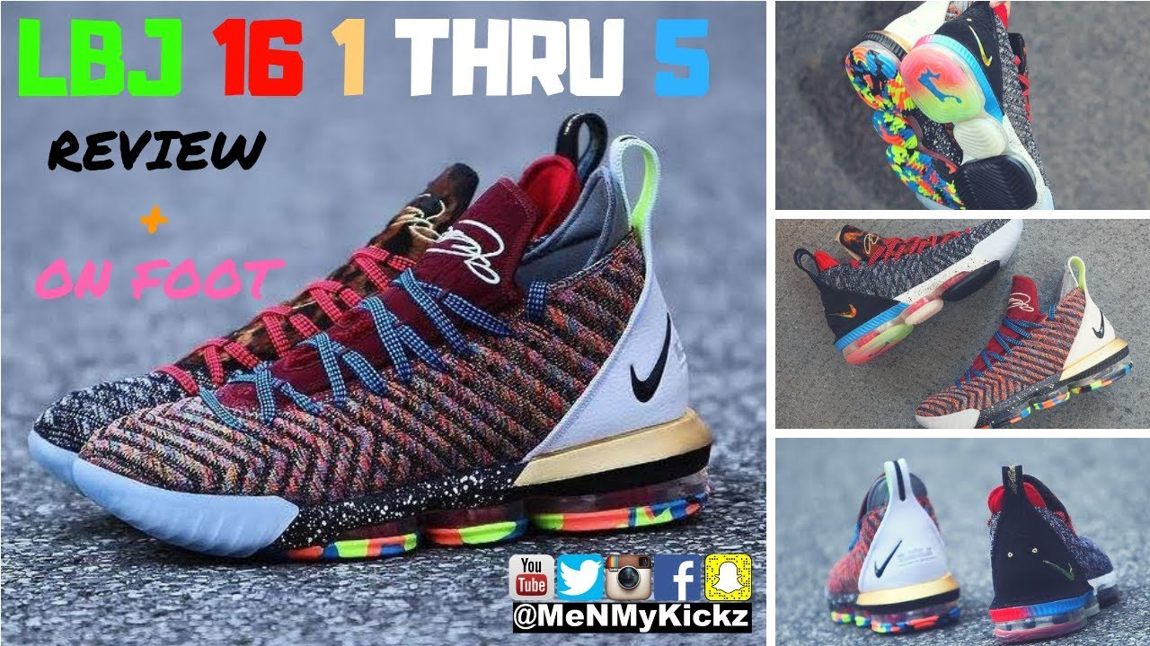 new products f6a1d 79787 Nike LeBron 16