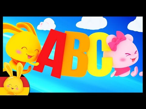 German Alphabet Song - Learn German easily - Nursery rhymes
