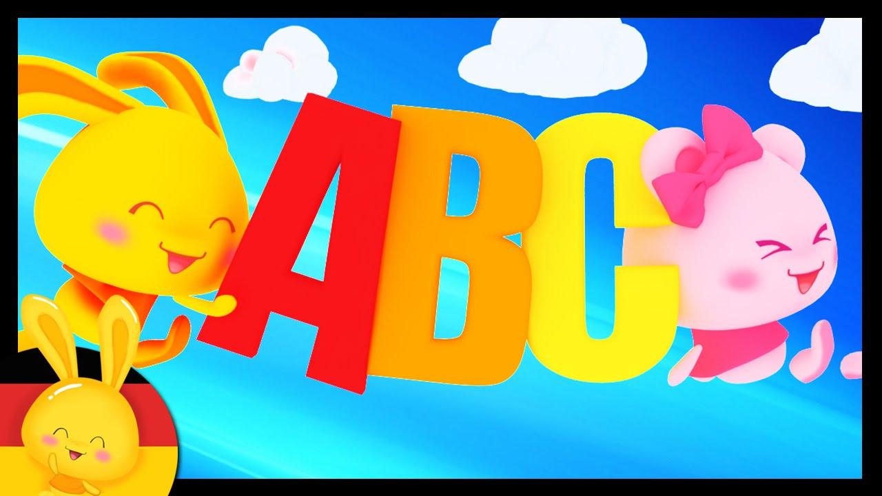 das alphabet abc lied lernlied kinderlieder deutsch youtube. Black Bedroom Furniture Sets. Home Design Ideas