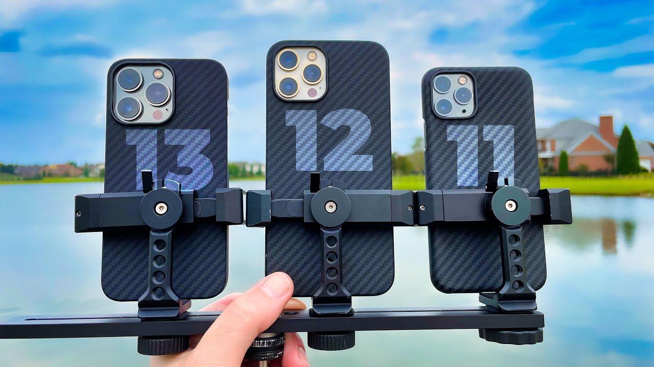 iPhone 13 Pro vs 12 Pro Max vs 11 Pro: Camera Comparison Test!