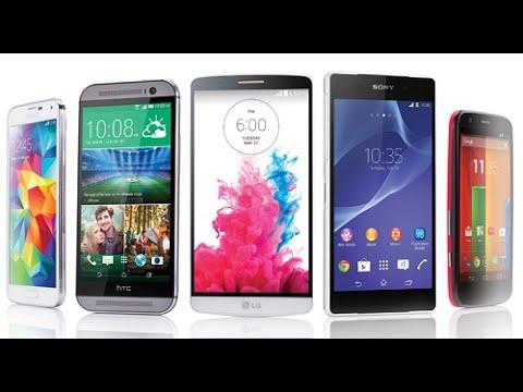 Alguns dos Melhores Smartphones do Mundo