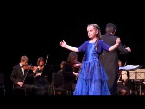 "Amira ""O Mio Babbino Caro"" (HD) - Fundraising Concert Lelystad 19-11-2014"
