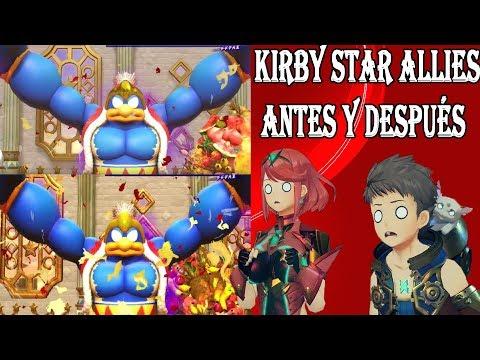 EL UPGRADE/MEJORA GRÁFICA DE KIRBY STAR ALLIES - ¿POR QUÉ LA PRENSA NO SE EMOCIONA?