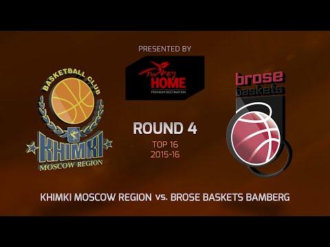 Highlights: Khimki Moscow region-Brose Baskets Bamberg