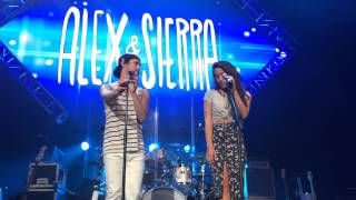 Alex and Sierra Start to Cry While Singing Bumper Cars - LIVE AT UCF