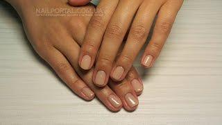 Шеллак Shellac самостоятельно - Техника нанесения Shellac (уроки дизайна ногтей)