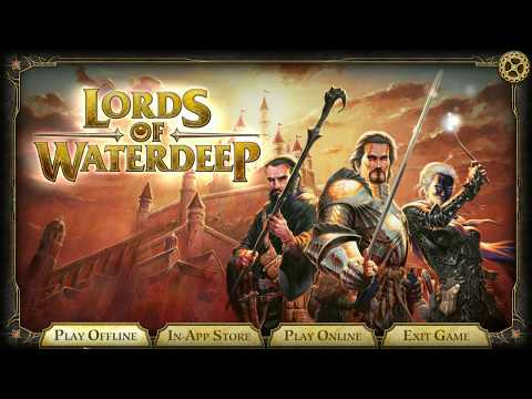 DGA Plays: D&D Lords of Waterdeep - Steam Version (Ep. 1 - Gameplay / Let's Play)