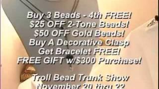 Peach Tree Trollbeads Trunk Show Nov 09