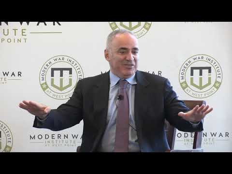 Garry Kasparov – Class of 2006 War Studies Conference (Nov 2018)