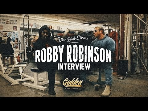 "Interview with Robby Robinson ""The Black Prince"""