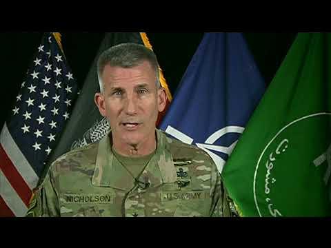 AFGHANISTAN SITREP - November 2017 General John W Nicholson