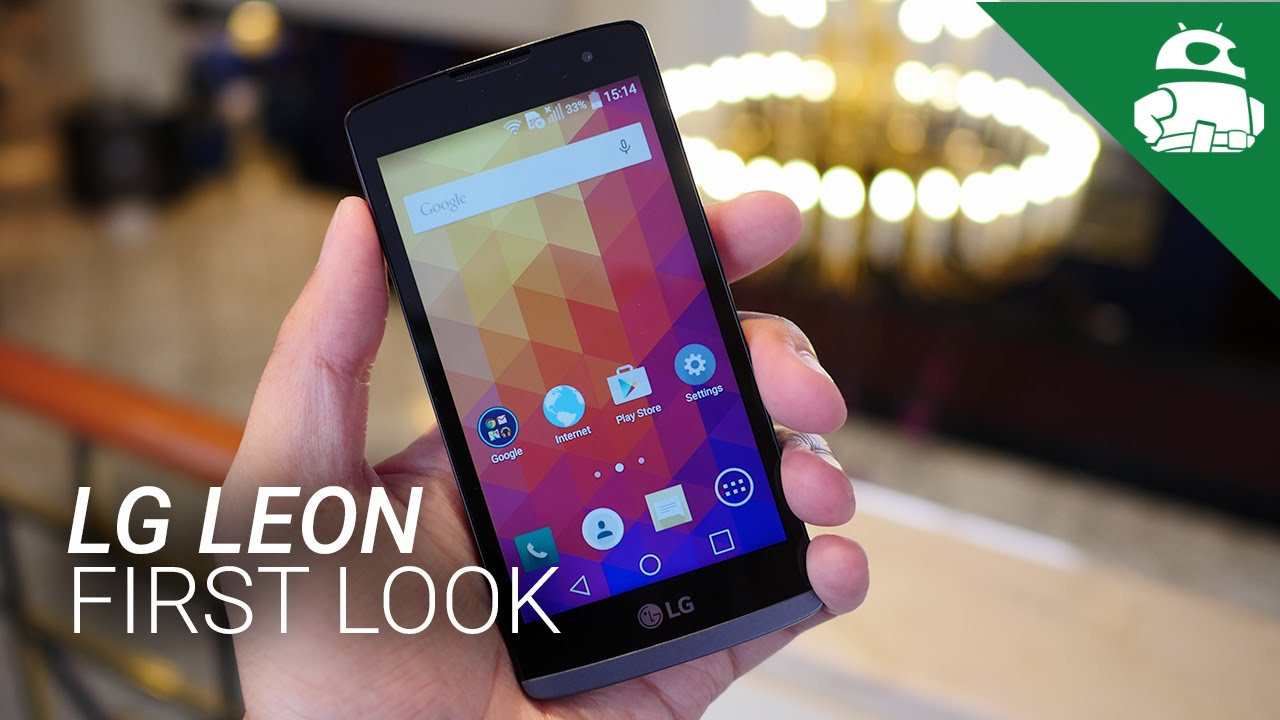 LG Leon First Look