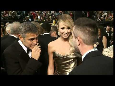 Oscars: Angelina Jolie, Brad Pitt, George Clooney and Meryl Streep on the red carpet