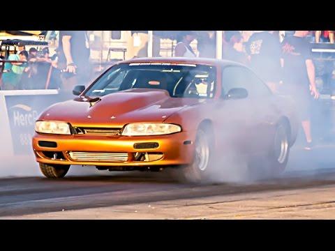 TURBO LSx Nissan 240sx vs Outlaw Armageddon NO PREP!