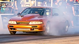 TURBO LSx Nissan 240sx vs Outlaw Armageddon NO PREP!