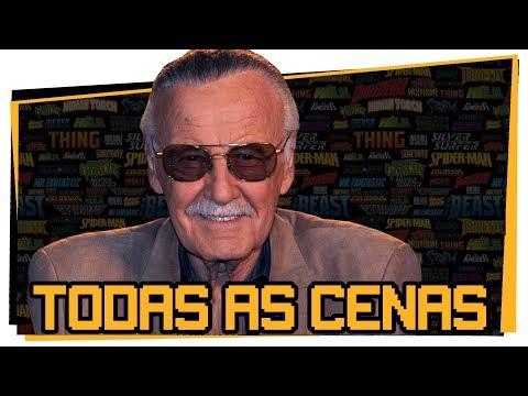 Stan Lee nos Filmes da Marvel - Todas as Aparições (2018) Game Over Curiosidades Comics