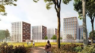 Архитектурная концепция жилого комплекса на ул. Братьев Фонченко