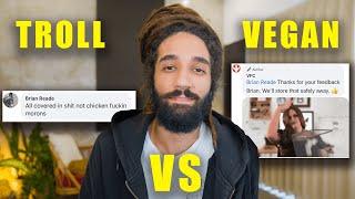 Reading Anti Vegan Funny Comments